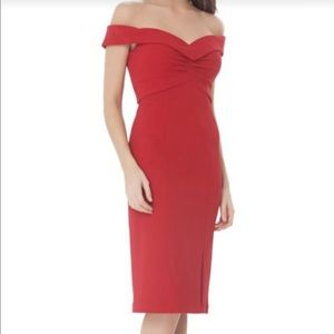 Beautiful red cocktail dress. Worn once.